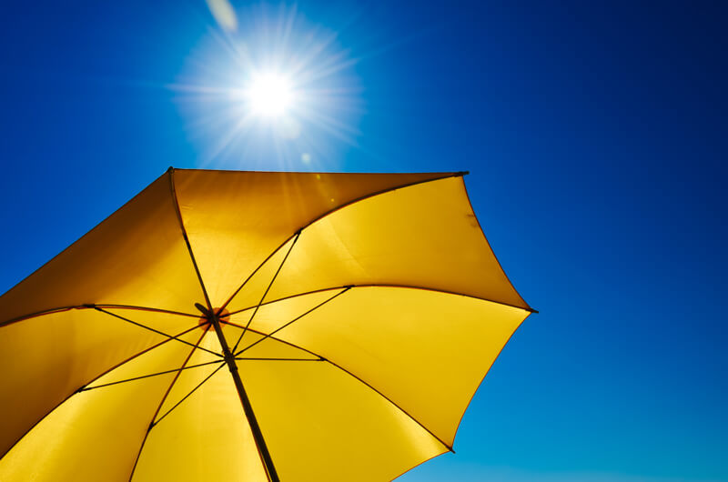 Umbrella to Protect from Too Much Sun