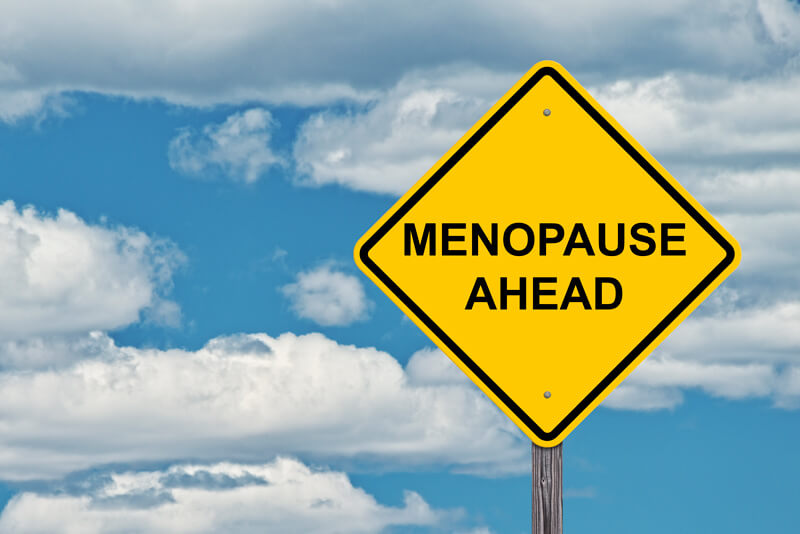 Menopause Ahead Sign