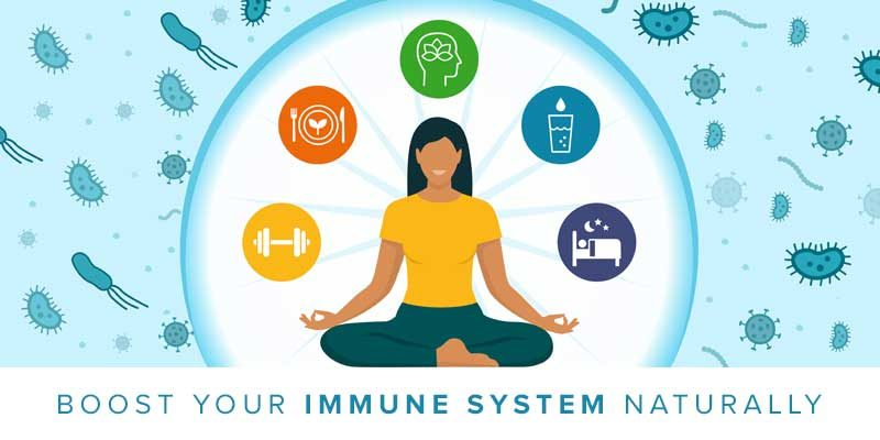 Best practices for naturally boosting immune system and woman meditating, boost-your-immune-system